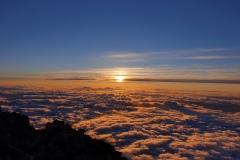 Západ slunce z Teide