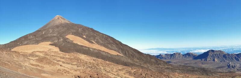 Pico del Teide s údolím